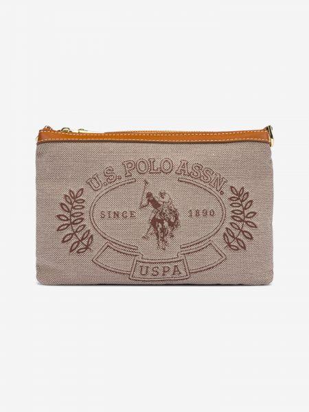 Victori D.Zip Cross body bag U.S. Polo Assn Hnědá 1043744