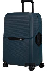 Samsonite Skořepinový cestovní kufr Magnum Eco M 82 l – tmavě modrá