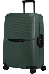Samsonite Skořepinový cestovní kufr Magnum Eco M 82 l – zelená
