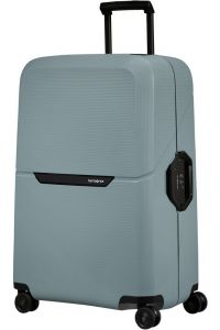 Samsonite Skořepinový cestovní kufr Magnum Eco L 104 l – světle modrá