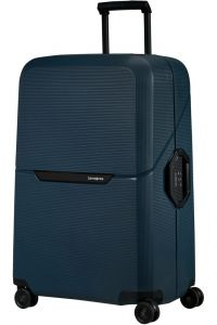 Samsonite Skořepinový cestovní kufr Magnum Eco L 104 l – tmavě modrá