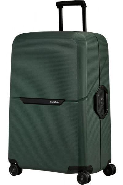 Samsonite Skořepinový cestovní kufr Magnum Eco L 104 l – zelená
