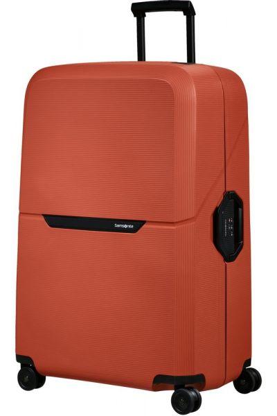 Samsonite Skořepinový cestovní kufr Magnum Eco XL 139 l – oranžová