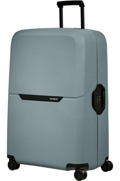Samsonite Skořepinový cestovní kufr Magnum Eco XL 139 l – světle modrá