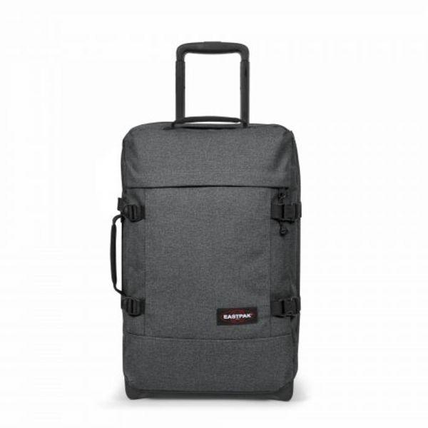 EASTPAK Cestovní taška Tranverz S Black Denim 42 l