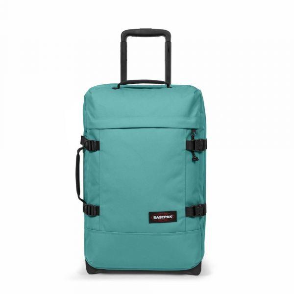 EASTPAK Cestovní taška Tranverz S River Blue 42 l