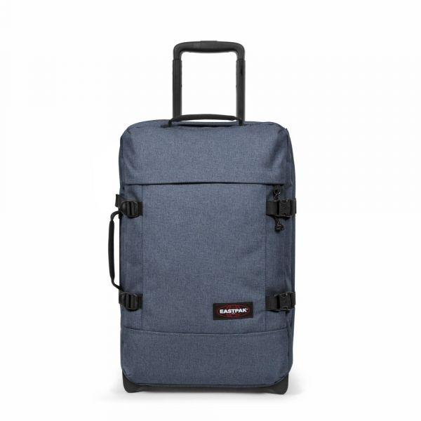 EASTPAK Cestovní taška Tranverz S Crafty Jeans 42 l