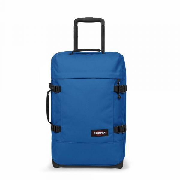 EASTPAK Cestovní taška Tranverz S Mediterranean Blue 42 l