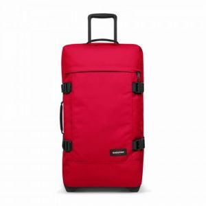 EASTPAK Cestovní taška Tranverz M Sailor Red 78 l