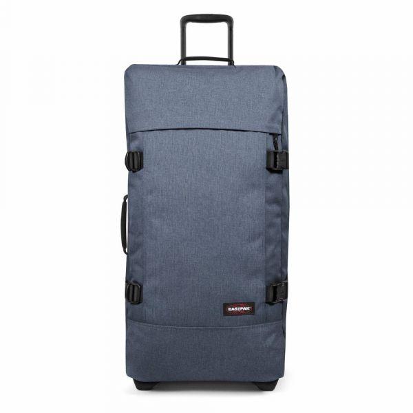 EASTPAK Cestovní taška Tranverz L Crafty Jeans 121 l