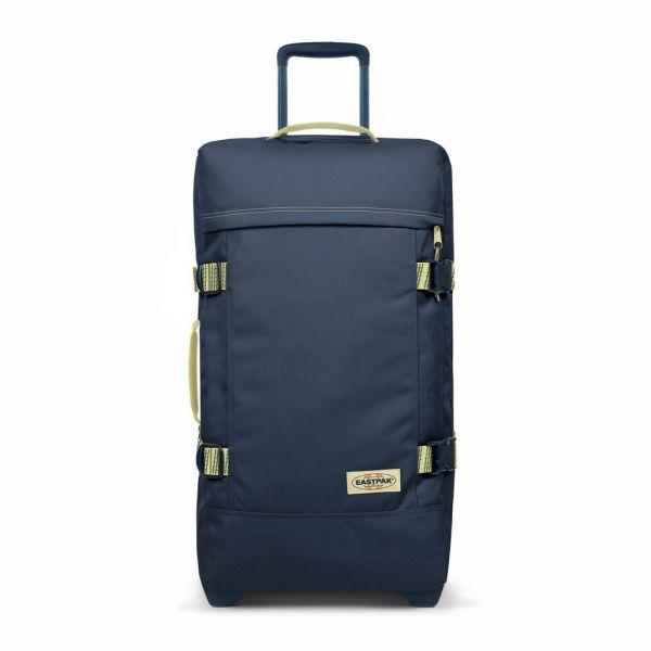 EASTPAK Cestovní taška Tranverz M Blakout Stripe Icy 78 l