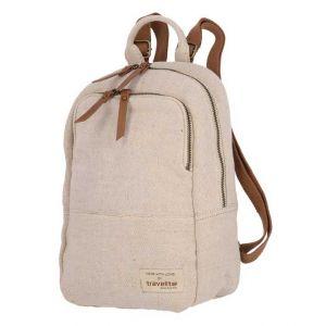 Travelite Hempline Small backpack Beige 6l