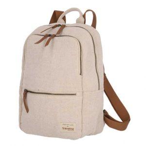 Travelite Hempline Big backpack Beige 10l
