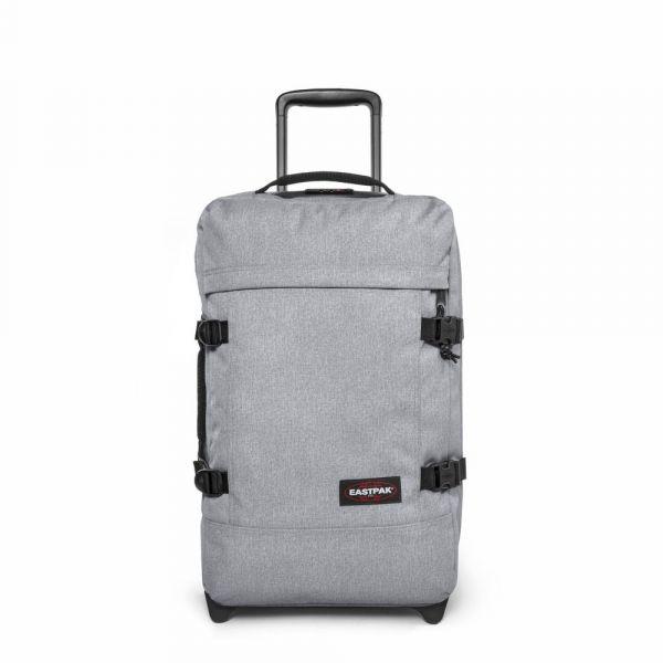 EASTPAK Cestovní taška/batoh na kolečkách Strapverz S Sunday Grey 42 l