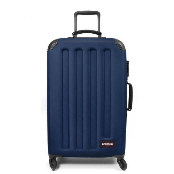 EASTPAK Hybridní cestovní kufr Tranzshell M Gulf Blue 56 l