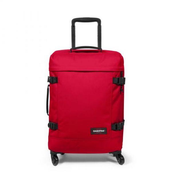 EASTPAK Kabinový cestovní kufr Trans4 S Sailor Red 44 l