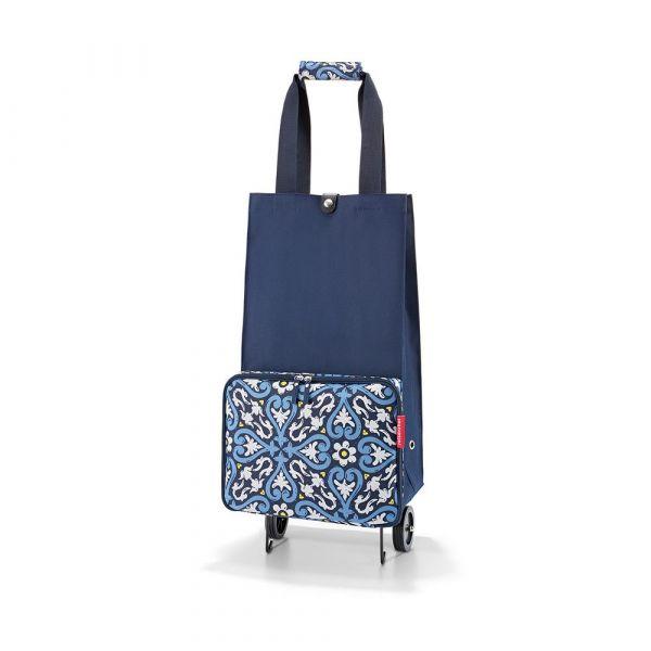 Reisenthel Skládací nákupní taška na kolečkách Floral 1 30 l
