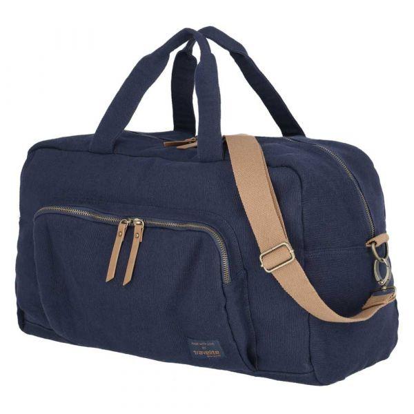 Travelite Cestovní taška Hempline Weekender Navy 32 l