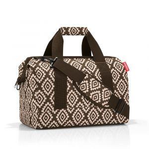 Reisenthel Cestovní taška Allrounder M Diamonds Mocha 18 l
