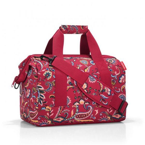 Reisenthel Cestovní taška Allrounder M Paisley Ruby 18 l