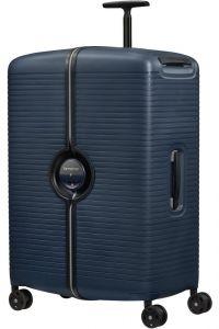Samsonite Skořepinový cestovní kufr Ibon 102 l – tmavě modrá