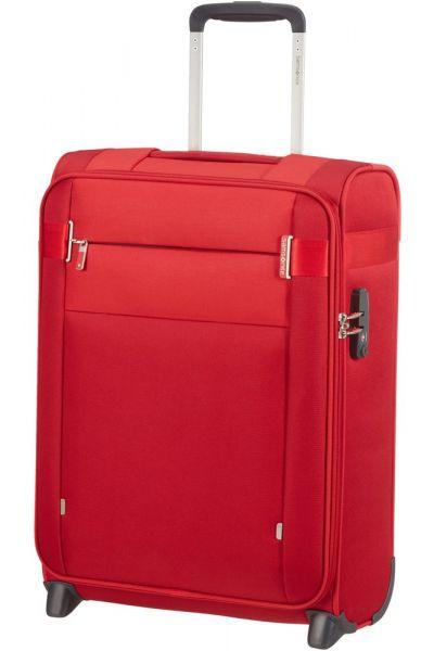 Samsonite Kabinový cestovní kufr Citybeat Upright 42 l – červená