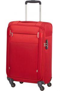 Samsonite Kabinový cestovní kufr Citybeat 35 l – červená