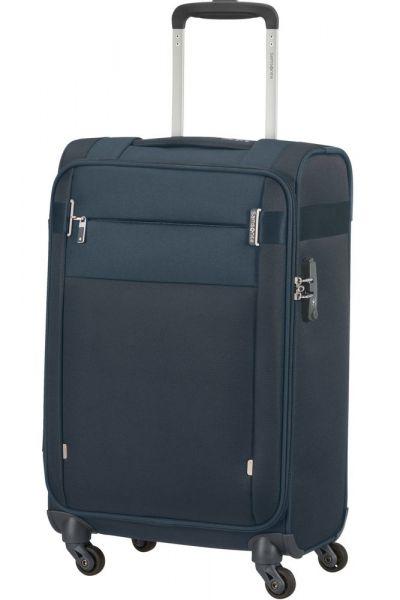 Samsonite Kabinový cestovní kufr Citybeat 35 l – tmavě modrá