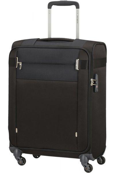 Samsonite Kabinový cestovní kufr Citybeat 42 l – černá