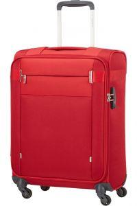 Samsonite Kabinový cestovní kufr Citybeat 42 l – červená