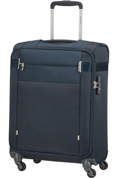 Samsonite Kabinový cestovní kufr Citybeat 42 l – tmavě modrá