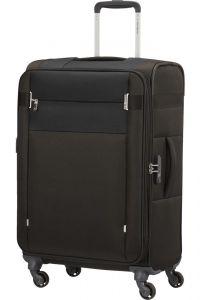 Samsonite Látkový cestovní kufr Citybeat EXP 67/73 l – černá