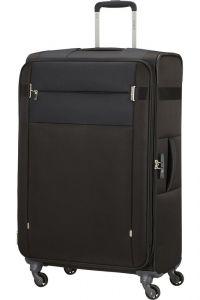 Samsonite Látkový cestovní kufr Citybeat EXP 105/113 l – černá