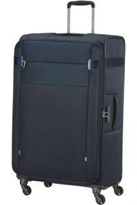 Samsonite Látkový cestovní kufr Citybeat EXP 105/113 l – tmavě modrá