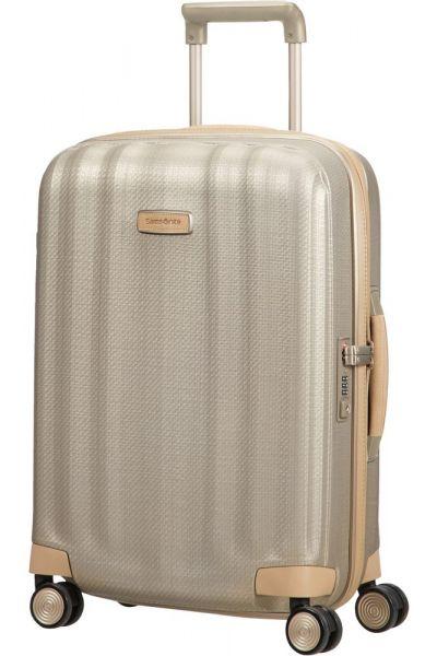 Samsonite Kabinový cestovní kufr Lite-Cube Prime 36,5 l – zlatá