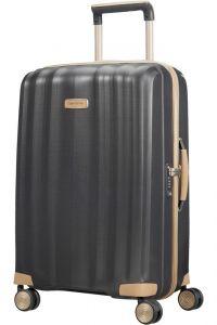 Samsonite Skořepinový cestovní kufr Lite-Cube Prime 67,5 l – tmavě šedá
