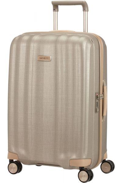 Samsonite Skořepinový cestovní kufr Lite-Cube Prime 67,5 l – zlatá