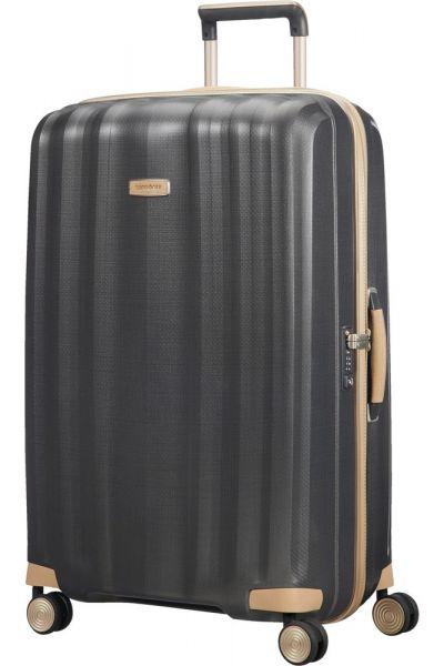Samsonite Skořepinový cestovní kufr Lite-Cube Prime 96 l – tmavě šedá