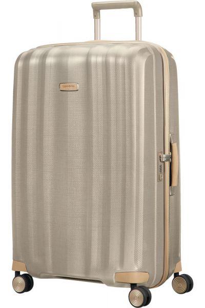 Samsonite Skořepinový cestovní kufr Lite-Cube Prime 96 l – zlatá
