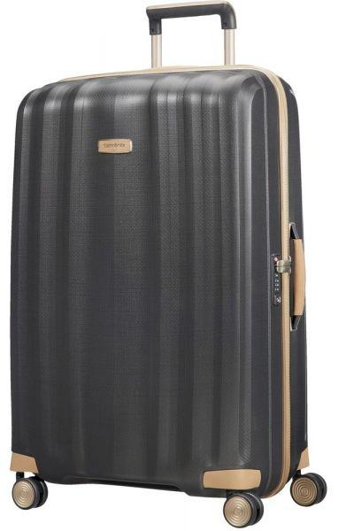 Samsonite Skořepinový cestovní kufr Lite-Cube Prime 122 l – tmavě šedá