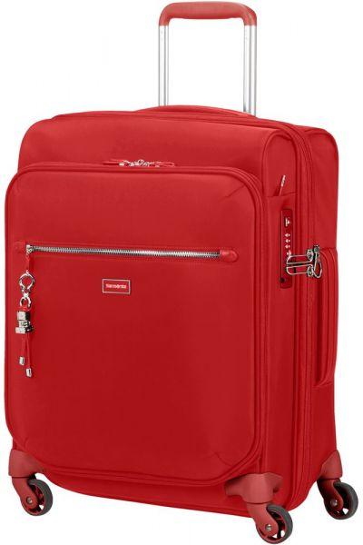 Samsonite Kabinový cestovní kufr Karissa Biz EXP 47/50,5 l – červená