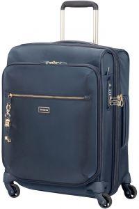 Samsonite Kabinový cestovní kufr Karissa Biz EXP 47/50,5 l – tmavě modrá