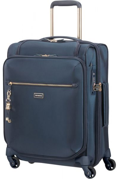 Samsonite Kabinový cestovní kufr Karissa Biz 40,5 l – tmavě modrá