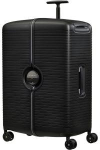 Samsonite Skořepinový cestovní kufr Ibon 102 l – černá