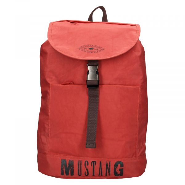 Trendy batoh Mustang Madrid – červená