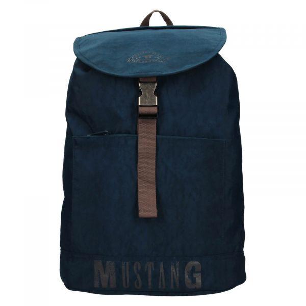 Trendy batoh Mustang Madrid – tmavě modrá