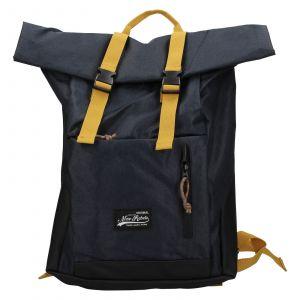 Velký trendy batoh New Rebels Lindr – modro-žlutá