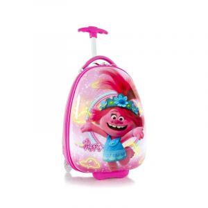 Heys Kids 2w dětský cestovní kufr 46 cm Trolls Pink