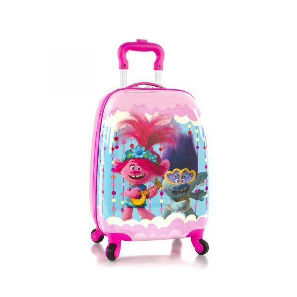 Heys Kids 4w dětský cestovní kufr 46 cm Trolls Party