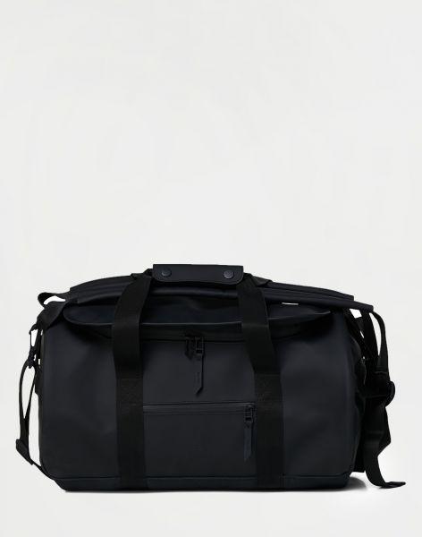 Rains Duffel Bag Small 01 Black